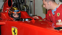 Bianchi to take over from Fisichella as Ferrari reserve
