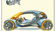 Smart 454 WWT concept, LA Auto Show Design Challenge 2010, 21.10.2010