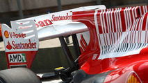 Fernando Alonso (ESP), Scuderia Ferrari tries out the F-Duct rear wing system - Formula 1 World Championship, Rd 4, Chinese Grand Prix, Friday Practice