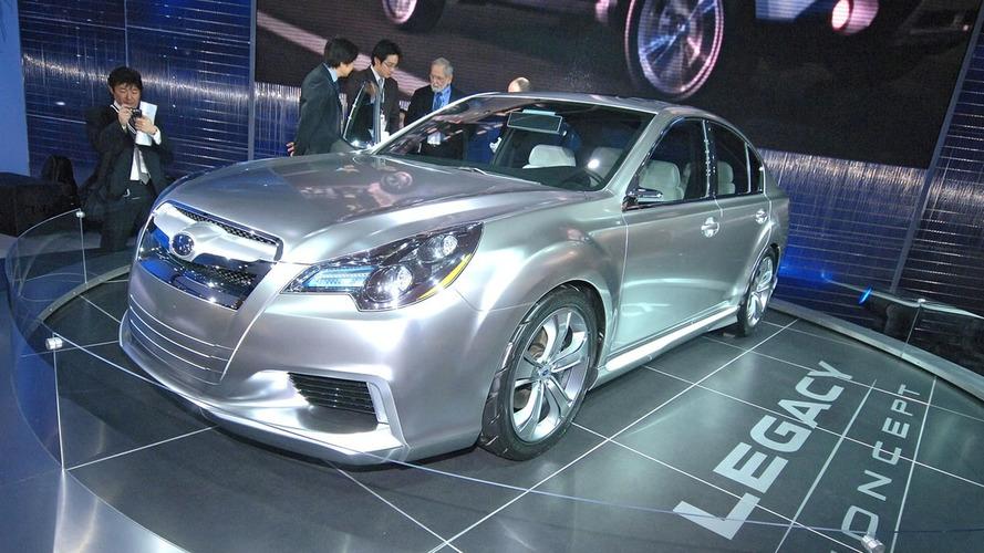 Subaru Legacy Concept Promo Video