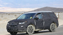 2016 Honda Pilot spy photo