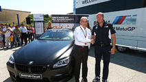 BMW M6 for best MotoGP qualifier 07.5.2013