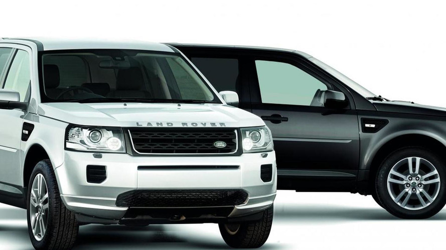 Land Rover Freelander 2 gets limited Black & White edition