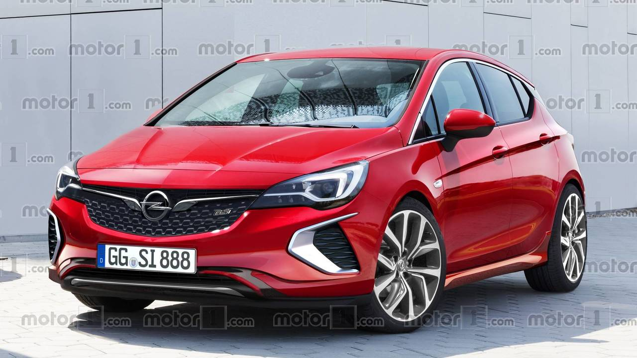 2018 opel astra gsi render photos. Black Bedroom Furniture Sets. Home Design Ideas
