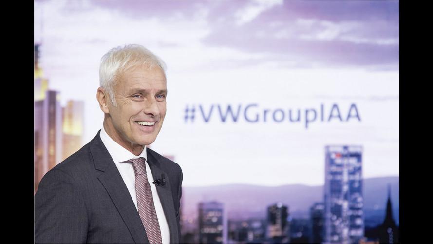 VW verschärft das Elektrifizierungstempo