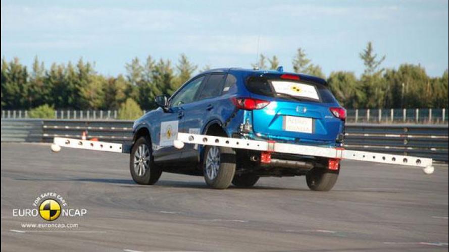 5 stelle EuroNCAP per la Mazda CX-5