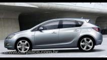 Novo Opel Astra 2010 - Surgem novas imagens da nova geração do hatch inspirado no Insignia
