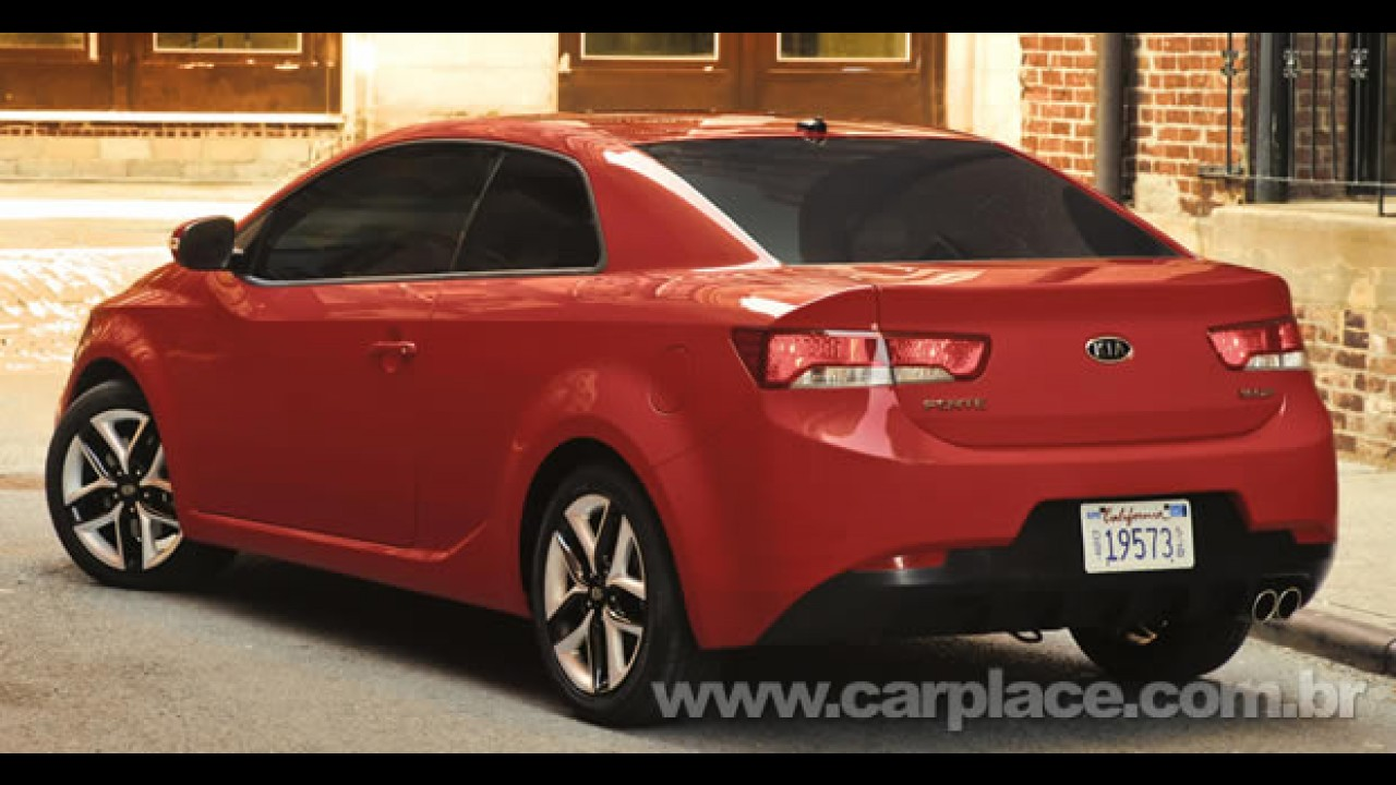 Novo Kia Cerato Koup chega ao Brasil em maio de 2010 por cerca de R$ 65 mil