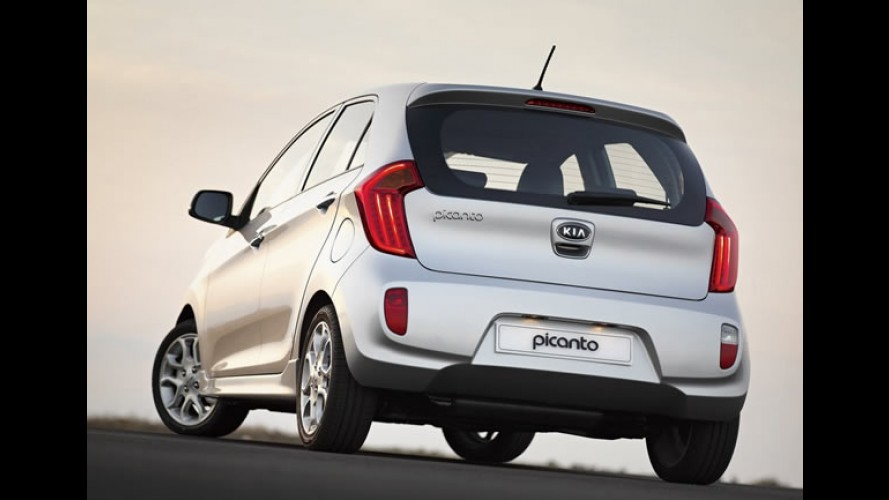 Novo Kia Picanto terá opção de freios ABS