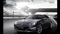 Novo Hyundai Genesis Coupé 2012 tem primeira imagem oficial revelada