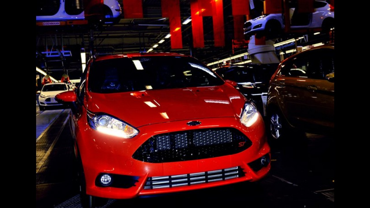 Ford inicia produção do Novo Fiesta ST - O mais potente Fiesta da história