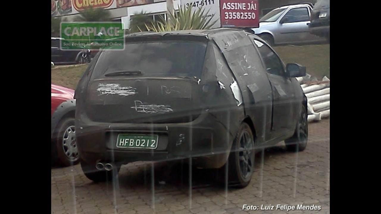 Leitor flagra o Novo Fiat Palio 2012 em Belo Horizonte