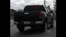 "Nova S10: Todo mundo está flagrando a nova pick-up, ""Menos Luiza, que está no Canadá"""