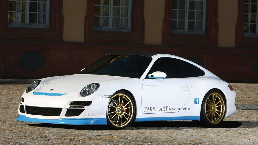 'Pretty Boy' Porsche 911 Carrera 4S by Cars & Art