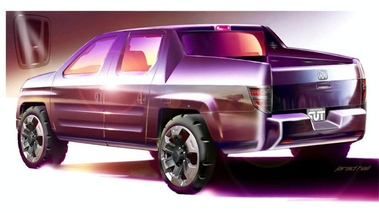 Honda SUT concept sketch