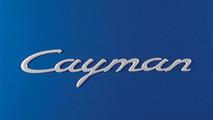 Porsche Cayman nameplate