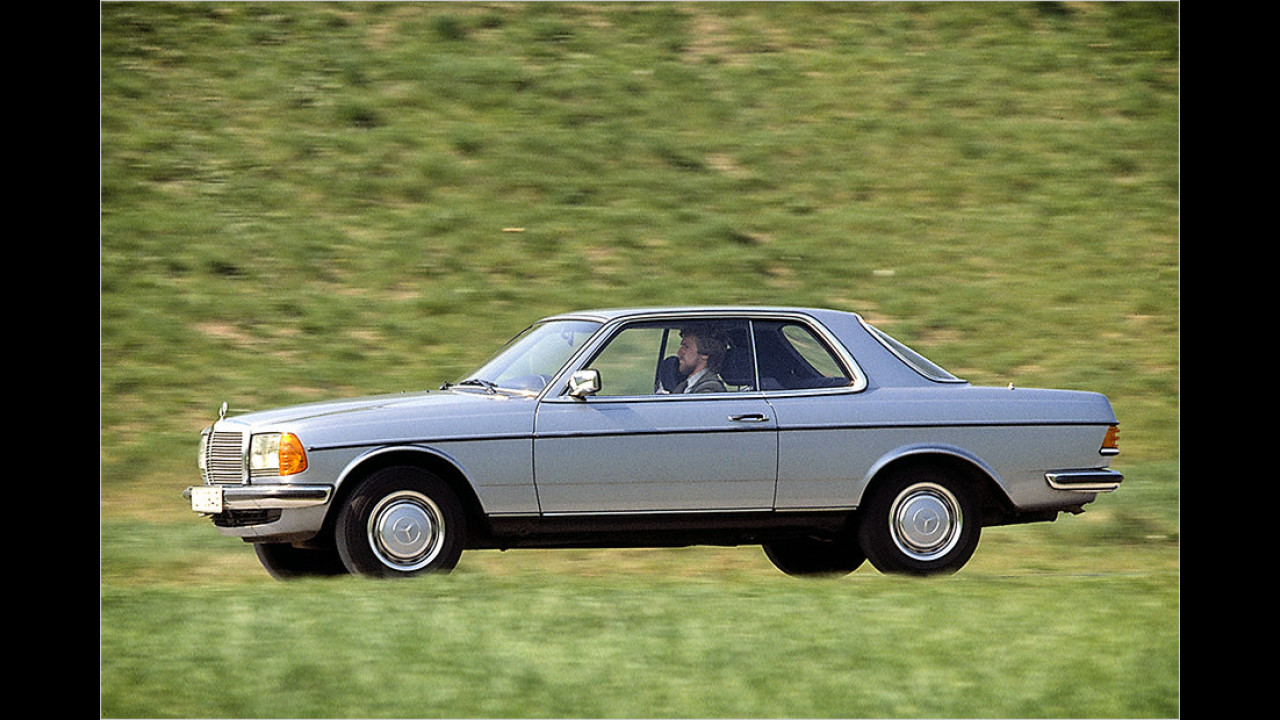1977-1985: Mercedes W 123 Coupé
