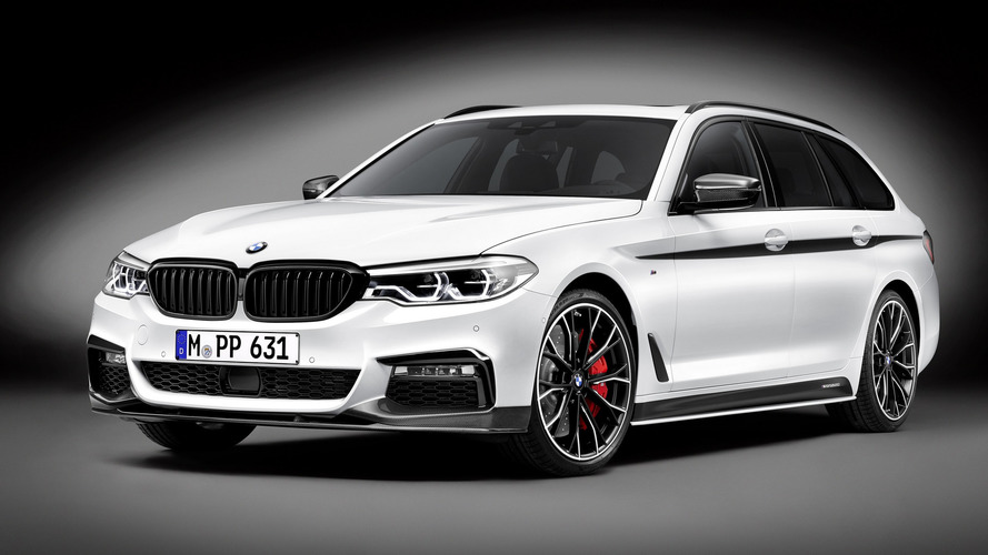 BMW 5 Series Touring With M Performance Pack Gets Close-Up Video