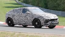 Fotos espía del Lamborghini Urus en Nürburgring
