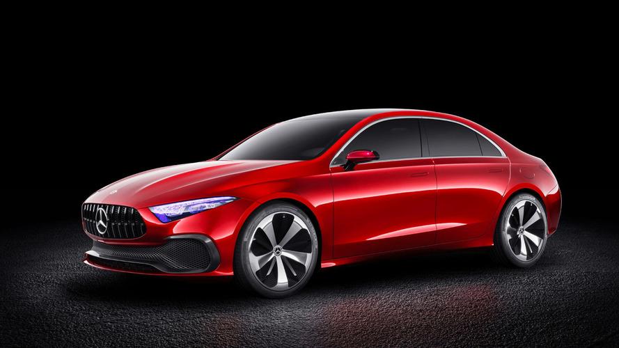 Mercedes Clase A Sedan concept: descúbrelo en vídeo