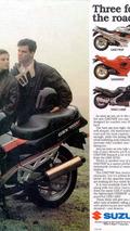 Historia Suzuki GSX
