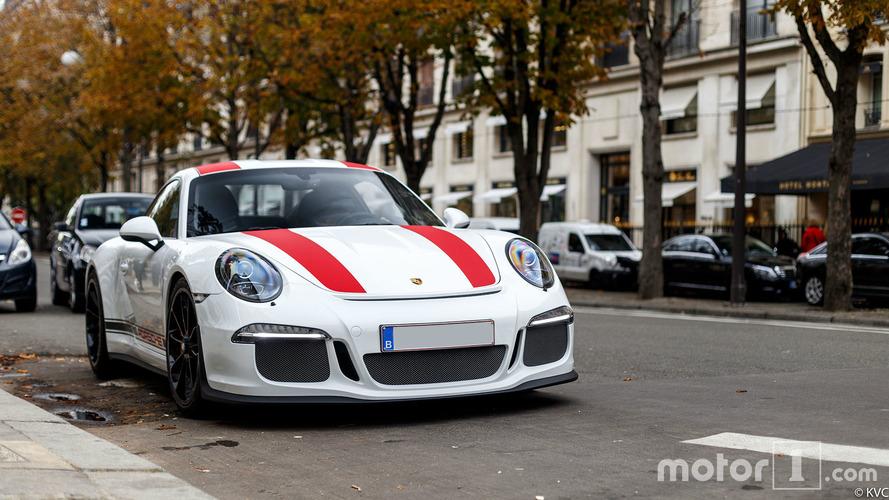 PHOTOS - Porsche 911 R à Paris