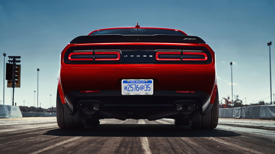 2018 Dodge Challenger SRT Demon Teaser Photos