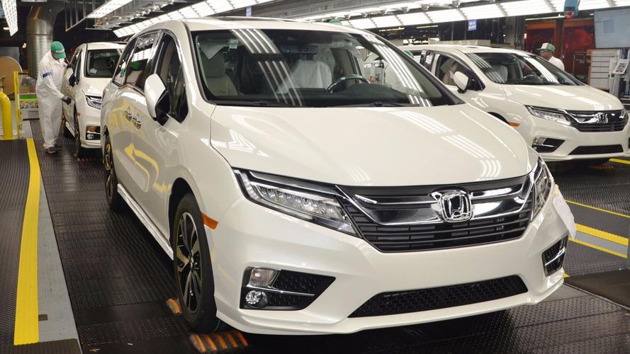 2018 Honda Odyssey Begins Production In Alabama
