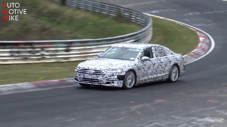Watch The 2019 Audi S8 Being Pushed Hard Around The Nurburgring