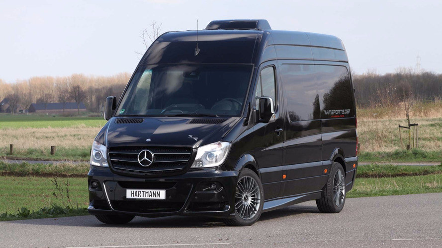 Hartmann Custom Mercedes Sprinter Makes Efficient Use Of Space
