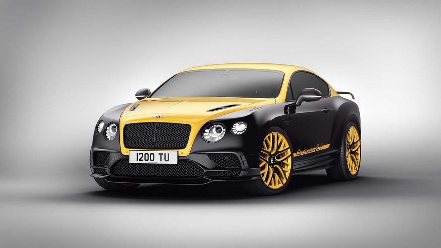 Nürburgring-inspired 700-hp Bentley Continental 24 Revealed