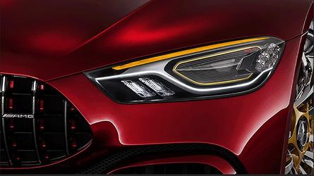 Mercedes-AMG GT Concept yeni teaser'ı ile bizi aydınlatıyor