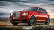 Rolls-Royce Cullinan Rendus