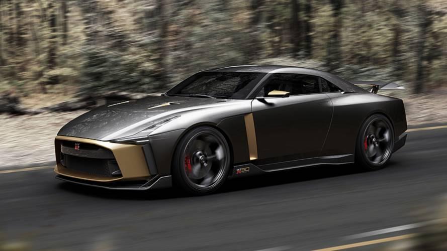 Nissan envisage de produire la GT-R50 Italdesign