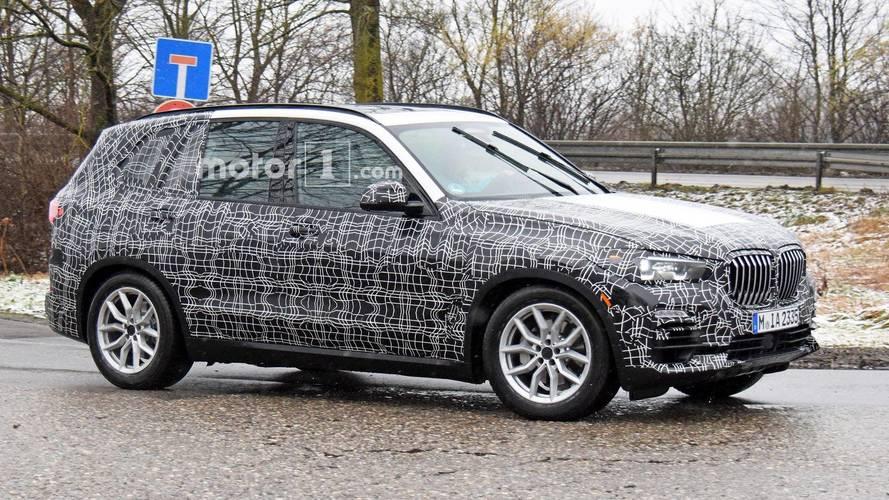 2018 BMW X5 kamuflajı azaltmış