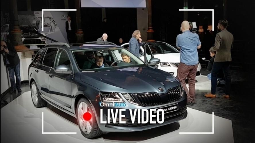 Skoda Octavia restyling, aggiornamenti di dettaglio [VIDEO]