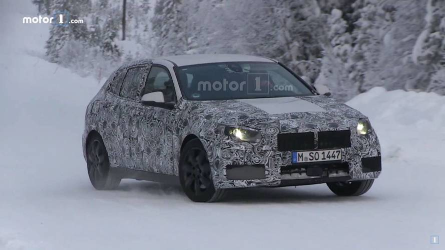 New BMW 1 Series Spied Getting Sideways On Video