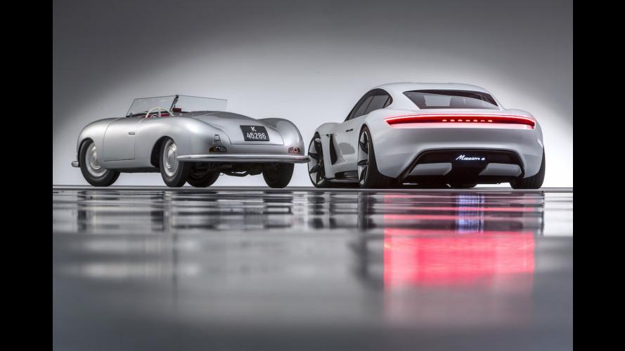 Porsche, a benzina, ibride ed elettriche le sportive del futuro