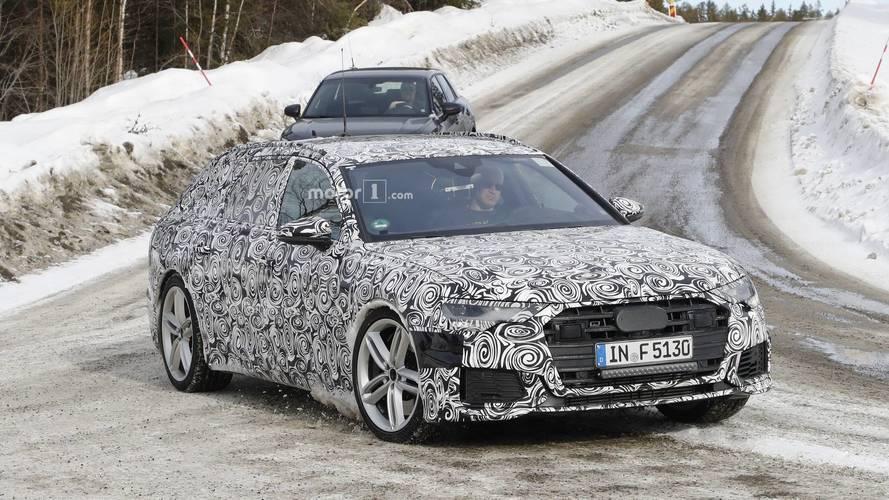 Yeni Audi S6 Avant kamuflajlı haliyle yakından görüntülendi