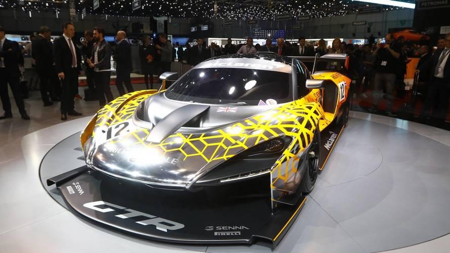 McLaren Senna GTR concept au salon de Genève 2018