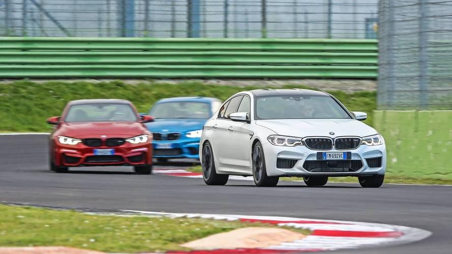 BMW, la nuova M5 inaugura la Driving Experience 2018