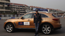 Sebastian Vettel Infiniti brand ambassador 10.06.2011