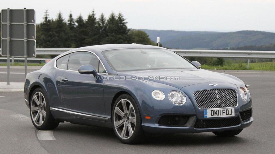 2012 Bentley Continental GT Speed spied undisguised