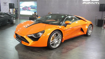 India's first sportscar DC Avanti gets grey and orange paints for APS 2015