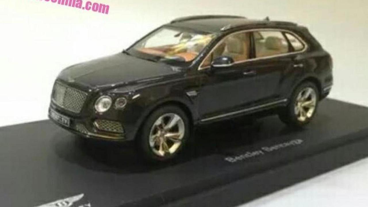 2016 Bentley Bentayga official diecast model (not confirmed)