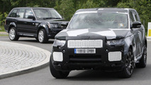 Range Rover Sport first spy photos 26.06.2012