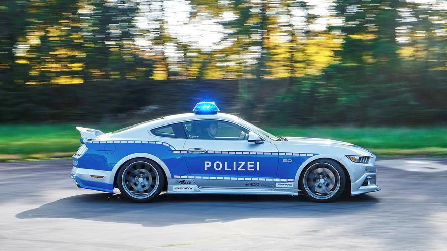Une Mustang tunée pour la police allemande