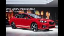 Novo Subaru Impreza 2017 é revelado por completo - veja galeria