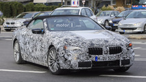 BMW 6 Series or 8 Series Coupe and Convertible spy photos