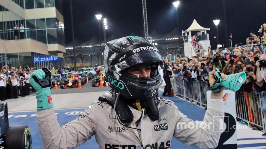 Nico Rosberg, Mercedes AMG F1 celebrates his World Championship in parc ferme